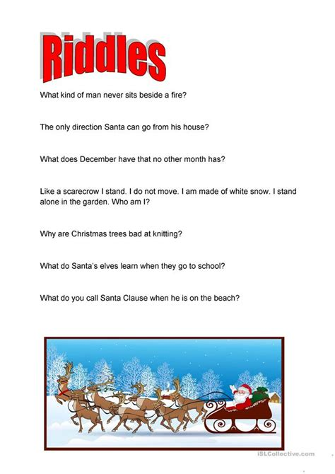 1 the new answers 0890515093 christmas riddles with their answers bing images