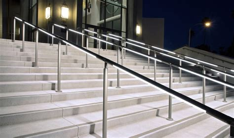 Illuminated Handrails we why you don t specify illuminated handrail it s time to change that sda lighting