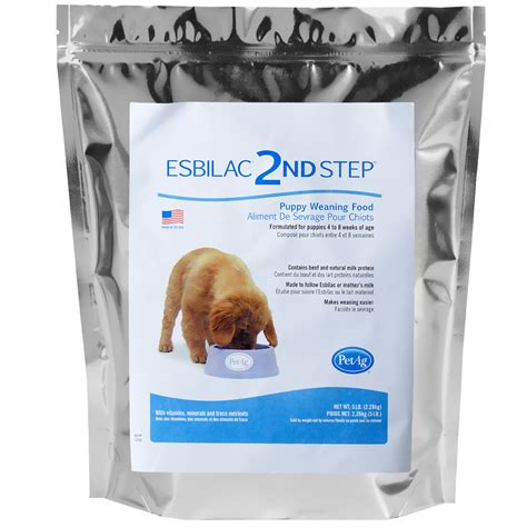 puppy weaning food esbilac 2nd step puppy weaning food 5 lb