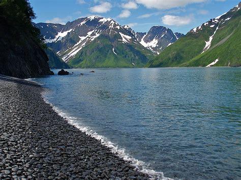 cobble beach kefj kenai fjords national park national