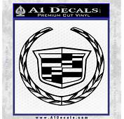 Cadillac New Logo Full Decal Sticker &187 A1 Decals
