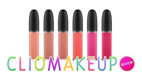 Mac Retro Matte Liquid Lip Color recensione rossetti opachi mac retro matte liquid lip