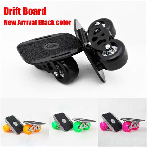 Drift Two Roller Skateboard Plate new upgrade drift board scrub flat plate skates skateboard deck wakeboard for fedex free