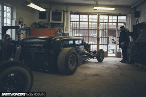 building a workshop garage home is where you build it the slammer garage speedhunters