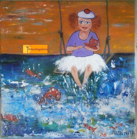 La Balancoire by Peinture La Balan 231 Oire De