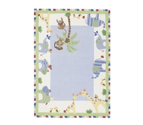 jungle friends rug jungle friends rug pottery barn baby shower room