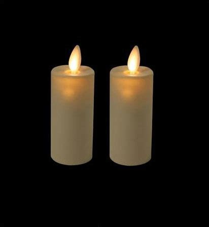 battery operated candles moving 3 inch ivory votives battery operated set of