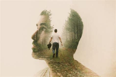 surreal double exposure tutorial artist captures surreal portraits using double exposure