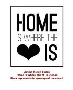 home stencil wall stencil quotes on wall stickers quotes