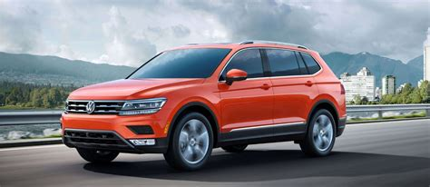 small suv with 3rd row seating 2018 three rows of seating for 2018 volkswagen tiguan compact
