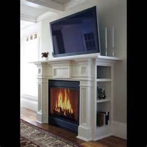 this fireplace with side storage my style