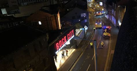 lil pump nottingham suspected pepper spray led to rock city evacuation at