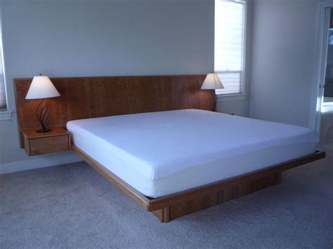 Bedside Platform Bed by Best 25 Floating Headboard Ideas On Floating