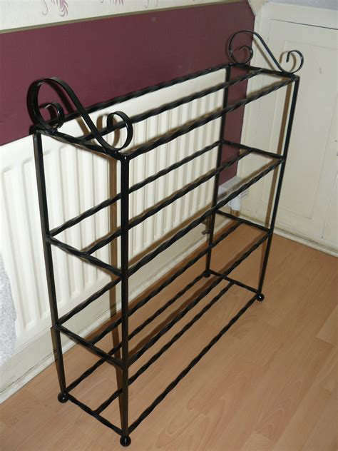 The Shoe Rack Outlet Shoe Rack Wrought Iron 12 To 16 Pairs