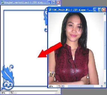 tutorial gambar ornamen membuat bingkai foto variasi 2 tutorial opo wae