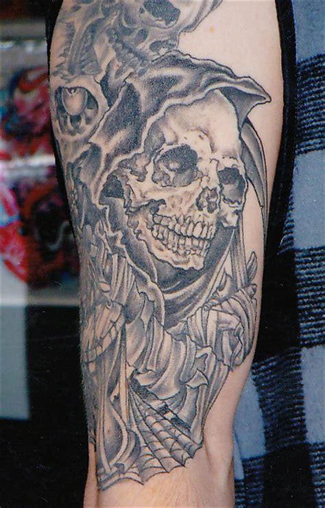 pushead rites of passage tattoo