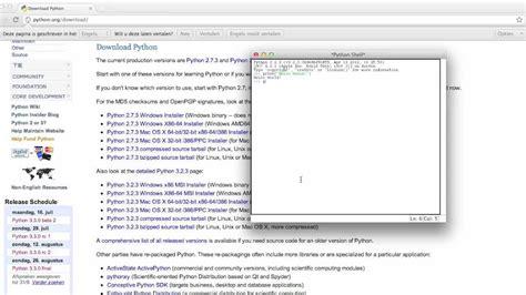 python tutorial 3 x python downloading python 3 x 2 7 x 1 hd youtube