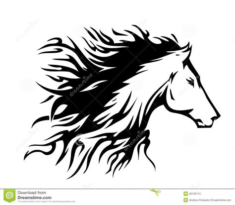 horse symbol vector stock photos image 20723113