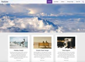 wordpress template free 15 best free personal themes templates 2016