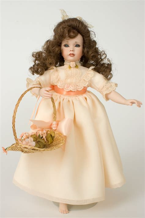 studio 5 collection porcelain doll rosebud porcelain limited edition doll by