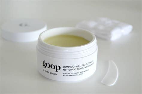 Goop Detox Review by Goop Skincare Luminous Melting Cleanser Exfoliating