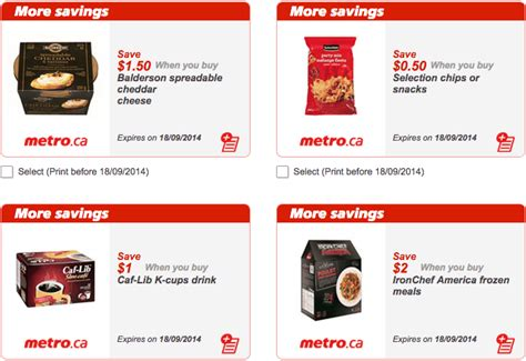 printable grocery coupons ontario canada new metro ontario canada grocery printable coupons