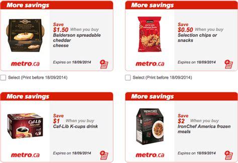 printable grocery coupons ontario new metro ontario canada grocery printable coupons