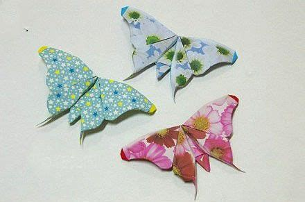 Origami Butterfly Bookmark - origami butterfly bookmark tutorial paper