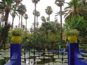 les jardins de majorelle chez mbarek