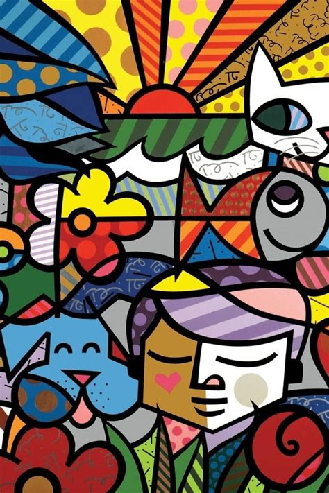 britto garden 17 best images about art that makes me smile on pinterest