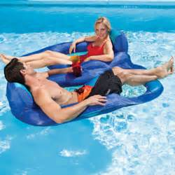 pool floats spring float recliner duet by swimways pool supplies