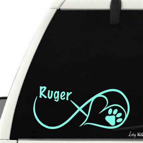 paw print infinity water color 17 best images about wall vinyl decal designs on