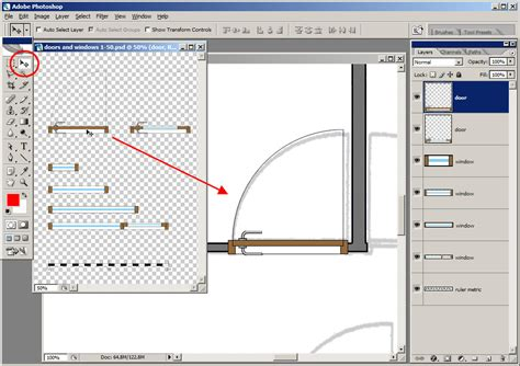 how to create a floor plan tutorial tracing a floor plan in adobe photoshop plan