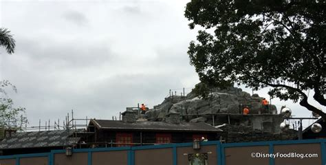 pavilion frozen construction frozen after what s new around walt disney world april 13 2016 the