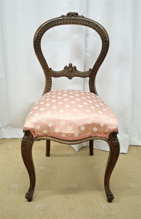 victorian armchair for sale six victorian walnut balloon back dining chairs for sale