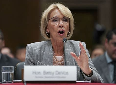 betsy devos articles guns aren t a focus of federal school safety panel betsy