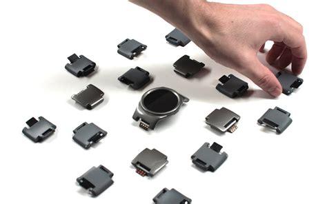 Smartwatch Blocks Blocks Modular Smartwatch The Awesomer