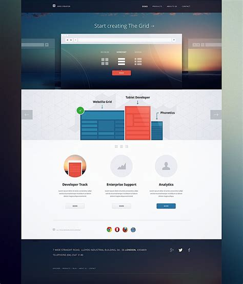 ui layout creative ui design by cosmin capitanu