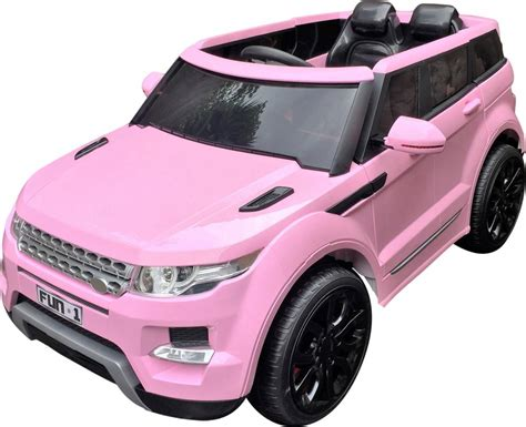 pink kids jeep range rover hse style kids battery electric ride on jeep