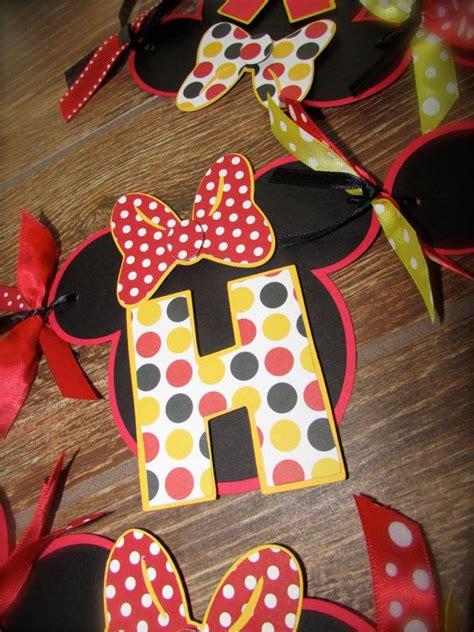 Banner Hbd Minnie Pita classic mickey and minnie mouse birthday by purplezebrapaperco 26 00 purple zebra paper co