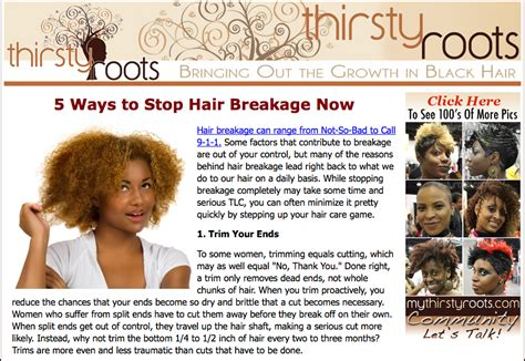 What Can I Do To Stop Hair From Shedding by Stop Relaxed Hair Breakage