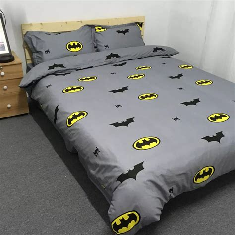Batman Twin Queen King Size Bedding Set Kids Duvet Cover Size Batman Bed Set