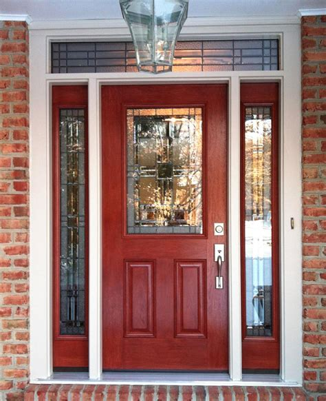 exterior front door lights signet front entry door with sidelights entry doors
