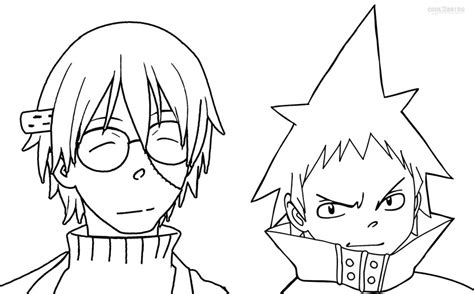 Printable Soul Eater Coloring Pages For Kids Cool2bkids Soul Eater Coloring Pages