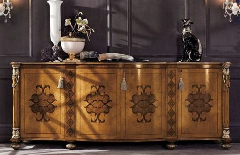 credenze classiche di lusso credenza classica con 4 porte per soggiorno di lusso