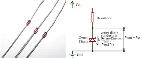 zener diode introduction what is zener diode operation principle types uses of zener diode as voltage regulator