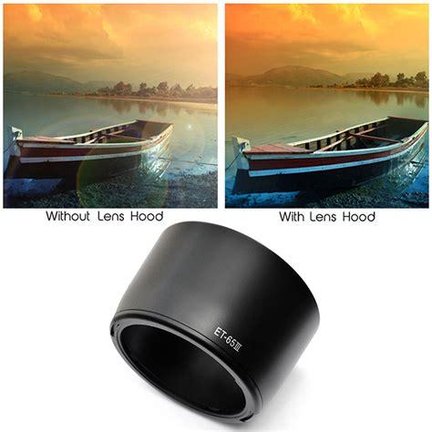 L3093 Lenshood Et65iii For Canon Efs 85mm F 18 Kode V3093 pro lens cover et 65 iii for canon ef 85mm f 1 8