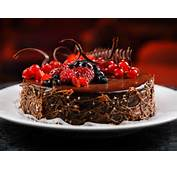 Happy Birthday Delicious Cake With Chocolate Chips  HD Wallpapers
