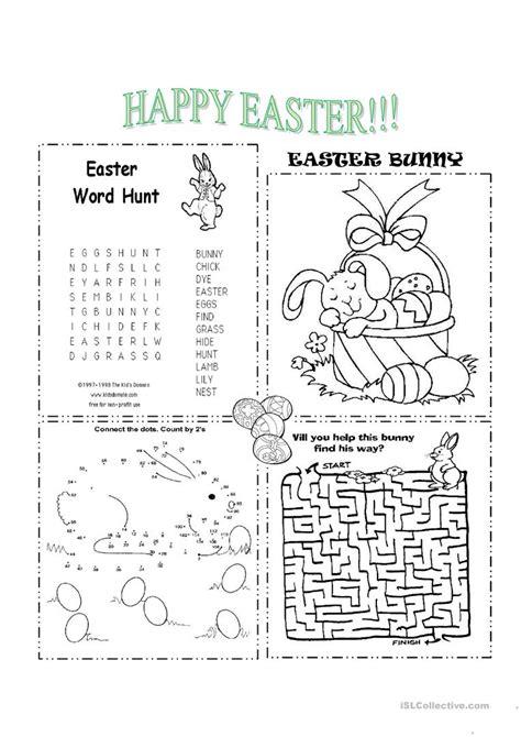 printable worksheets easter easter worksheet free esl printable worksheets made by
