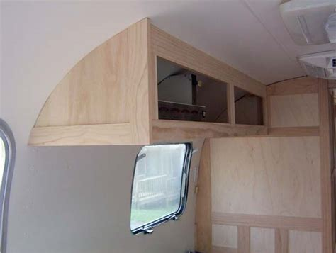 Airstream Cabinets by Pocket Doors Overhead Cabinet And Airstream Forums